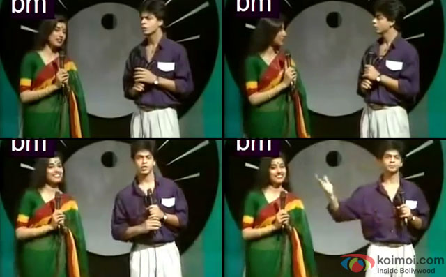 Shah Rukh Khan in a rare Doordarshan Program
