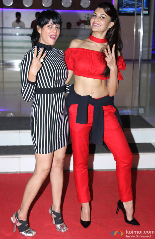 Jacqueline Fernandez during the party for 'Housefull 3' hosted by Sajid Nadiadwala