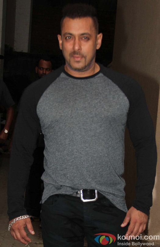Salman Khan during during the press conference of movie Sultan