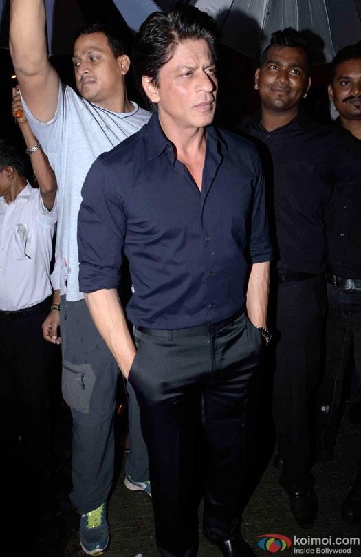 Shah Rukh Khan during the Anand L. Rai's Birthday Bash