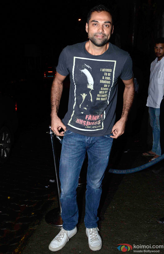 Abhay Deol during the Anand L. Rai's Birthday Bash