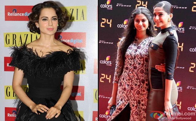 Sonam, Rhea doing well in glamour world: Kangana