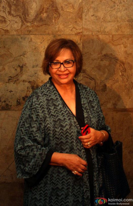 Helen during the special screening of film 'Nil Battey Sannata'