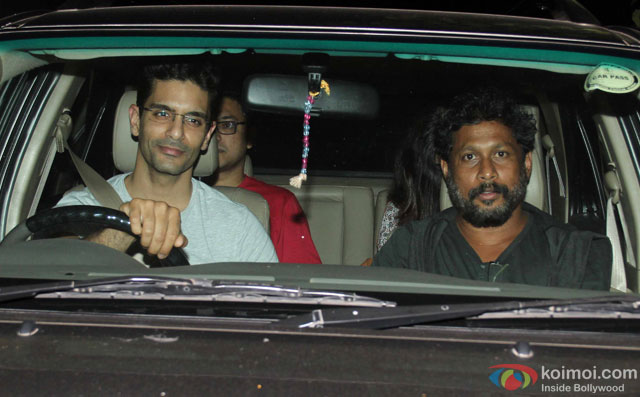 Shoojit Sircar during the special screening of film 'Te3n' at Yashraj Studio