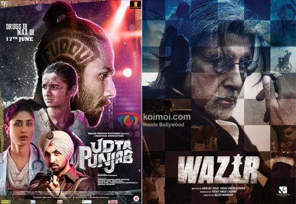 Udta Punjab Beats Wazir; Becomes 8th Highest Grosser Of 2016