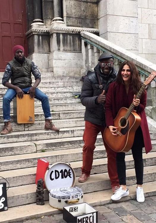 On The Sets Of Befikre : Vaani Kapoor Is Totally Exploring Paris Vaani Kapoor