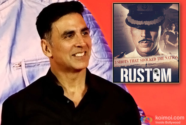 What Akshay Kumar Has To Say About His Upcoming Film Rustom?