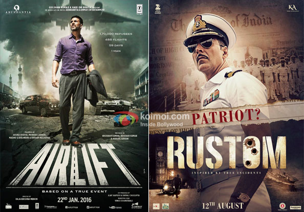 Airlift and Rustom