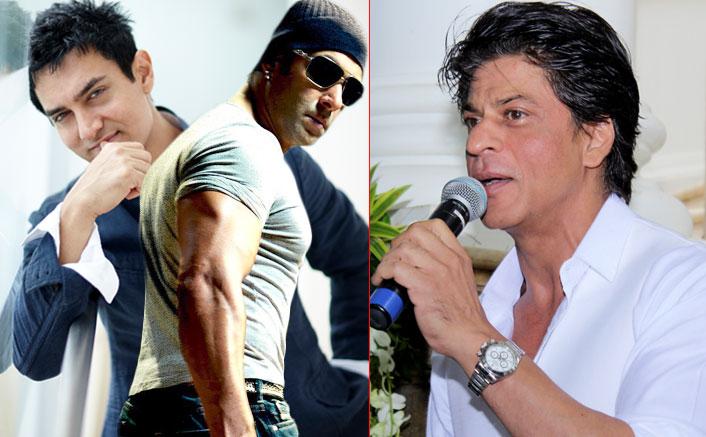 Aamir Khan, Salman Khan are bigger stars than me: Shah Rukh Khan