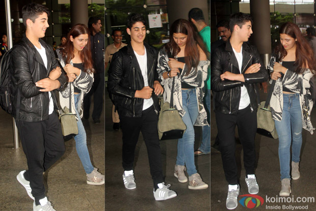 Aarav Kumar spotted at Airport
