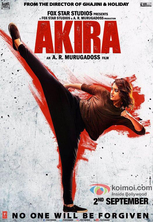 Sonakshi Sinha starrer Akira poster