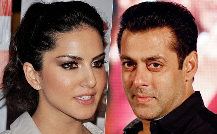 Sunny Leone and Salman Khan