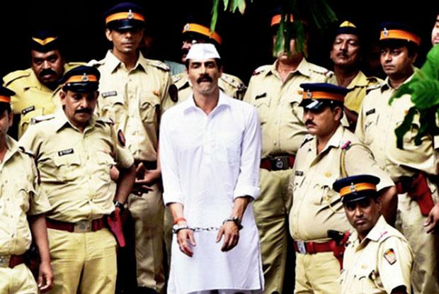 Arjun Rampal on the sets of Arun Gawli's Biopic movie 'Daddy'