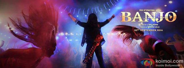 The Brand New Poster Of Banjo ft | Riteish Deshmukh