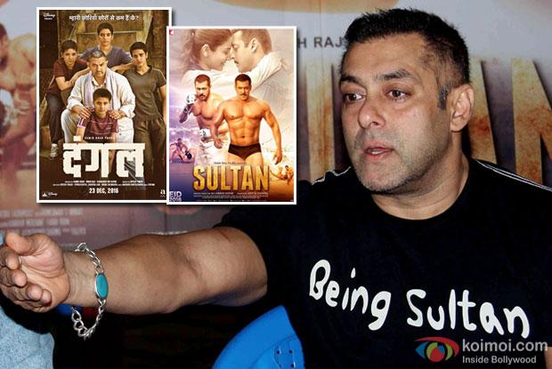 Everyone is aware of 'Dangal' before 'Sultan' : Salman Khan