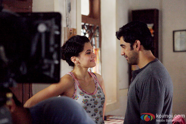 First look of Barish Mein Chowmein - Taapsee Pannu and Amit Sadh