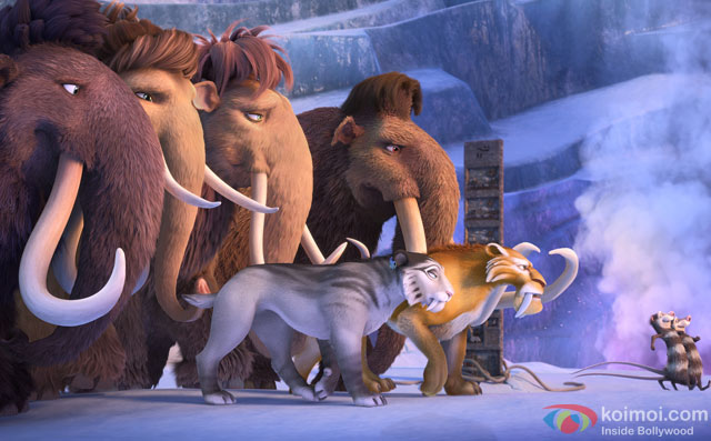 still from movie 'Ice Age: Collision Course'