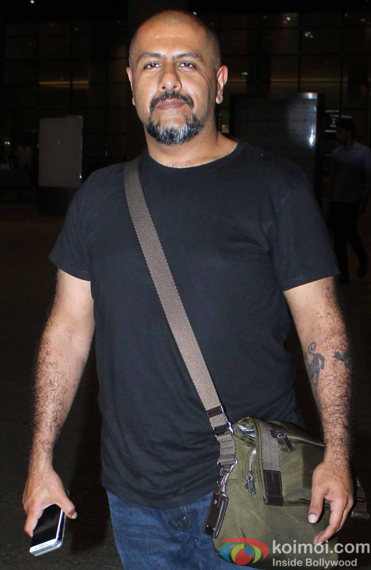 Vishal Dadlani Spotted at Airport