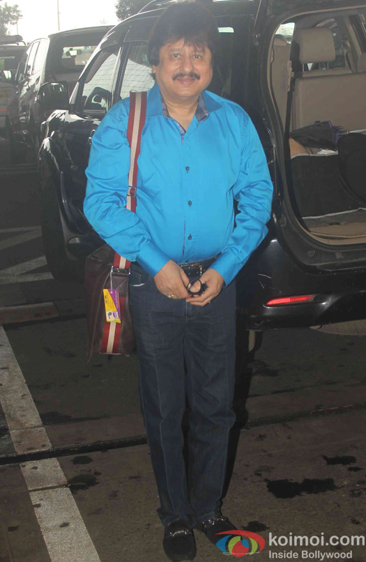 Pankaj Udas Spotted at Airport