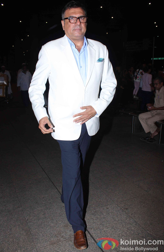 Boman Irani Spotted at Airport
