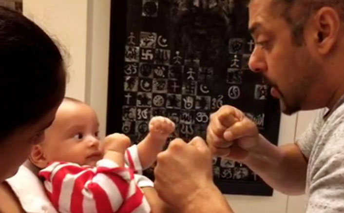 Watch: Nephew Ahil Packs A Punch To Sultan Aka Salman Khan