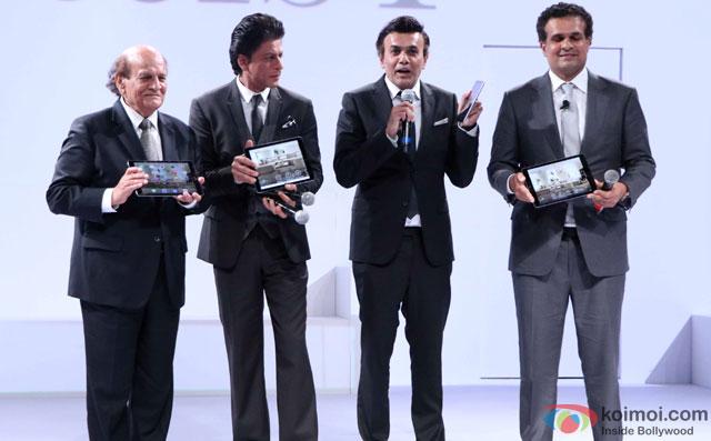 Shah Rukh Khan At The Lauch Of D'Décor
