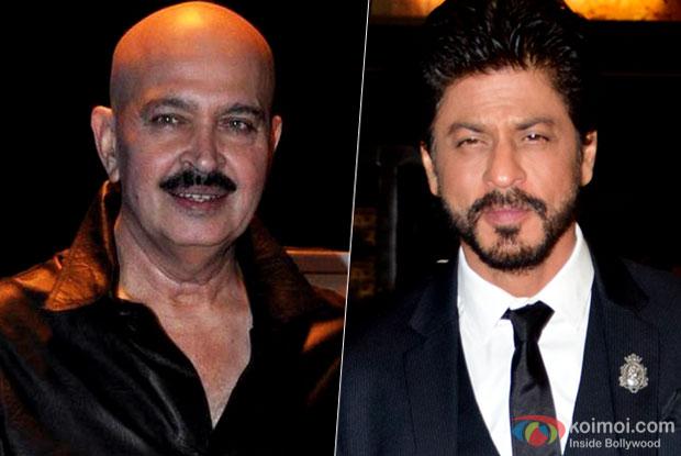 Shah Rukh Lhan Pays Visit to Rakesh Roshan