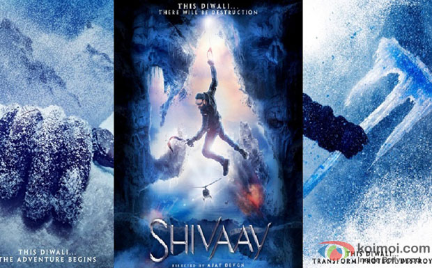 Ajay Devgn starrer 'Shivaay' Movie Poster