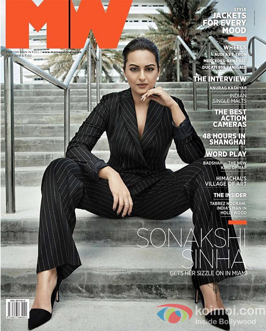 Saonakshi Sinha Features On the Latest Edition Of Man's World Magazine!