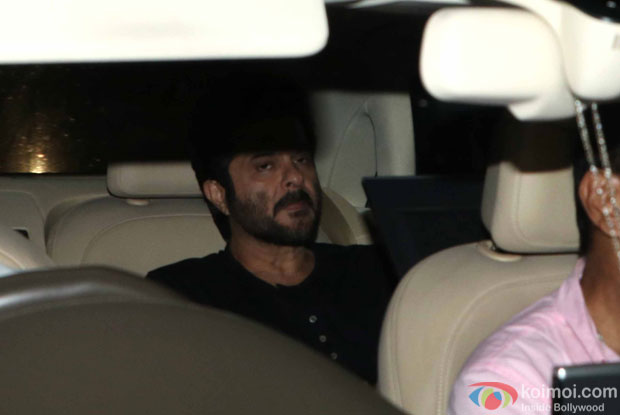 Anil Kapoor during the screening of sultan