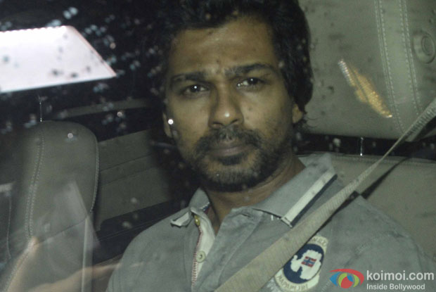 Nikhil Dwivedi during the screening of sultan