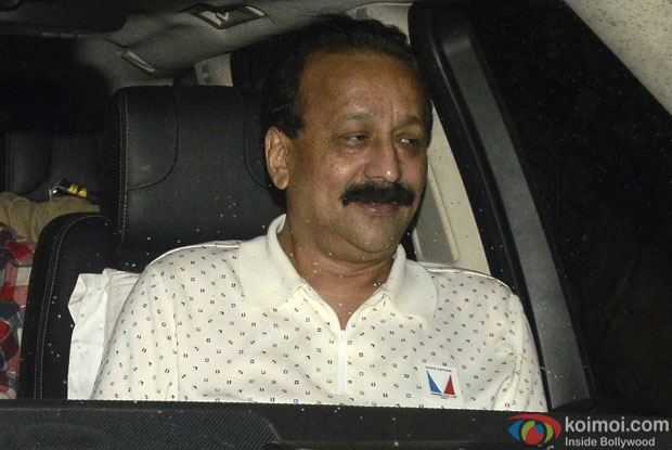 Baba Siddiqui during the screening of sultan