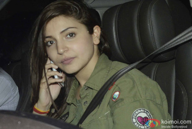 Anushka Sharma during the screening of sultan