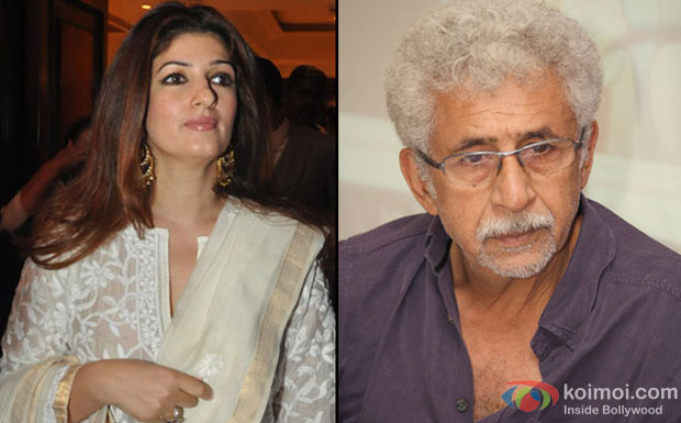Twinkle slams Naseeruddin for calling father 'poor actor'