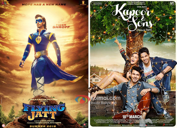 A Flying Jatt Evicts Kapoor And Sons; Becomes 10th Highest Grosser Of 2016