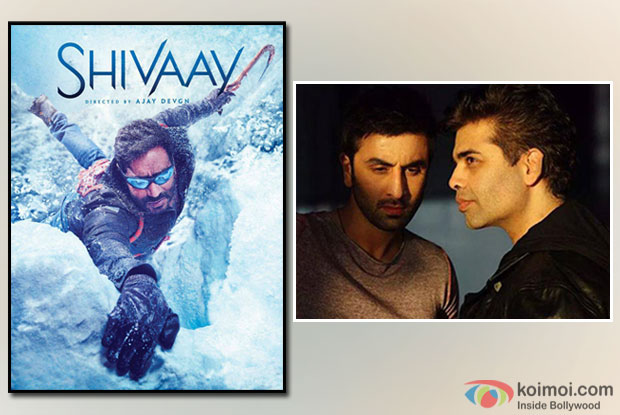 Ae Dil Hai Mushkil Vs Shivaay Clash : KJo Avoids Questions