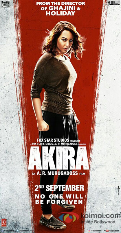 Akira New Poster | Sonakshi Sinha In A Fierce Angry Look