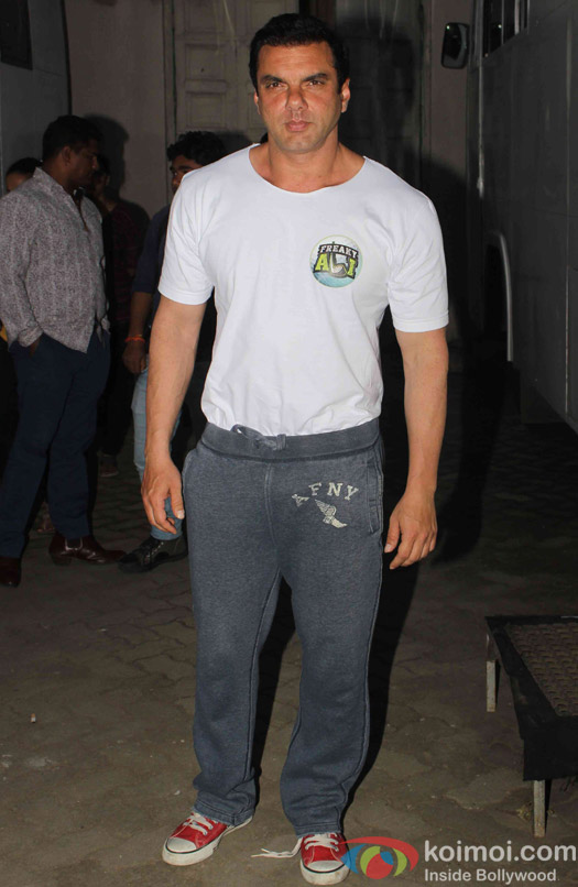 sohil Khan spotted at mehboob studio
