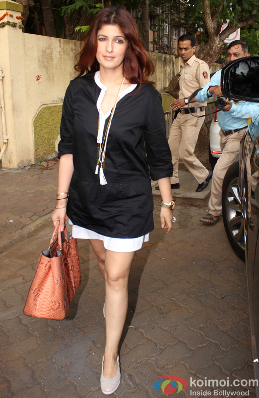 Twinkle spotted at PVR juhu