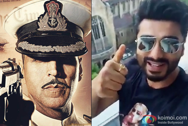 Arjun Kapoor Promotes Akshay Kumar's Rustom