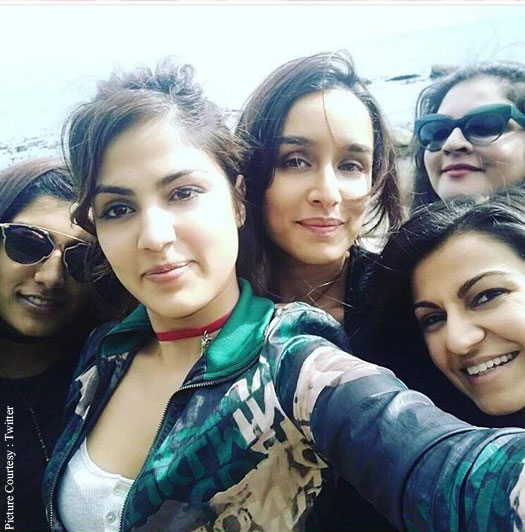 Shraddha Kapoor on the sets of Half Girlfriend
