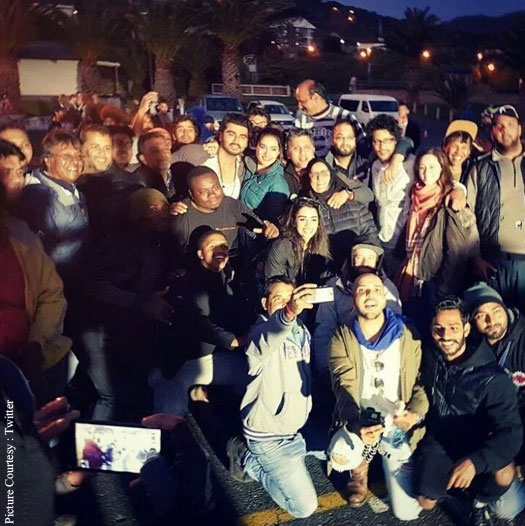 Arjun Kapoor & Shraddha Kapoor Wrap With Their Cape Town Of Half Girlfriend
