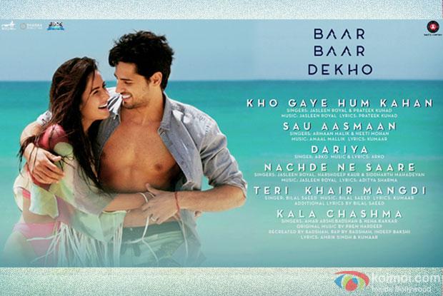 Baar Baar Dekho - Audio Jukebox | Sidharth Malhotra and Katrina Kaif