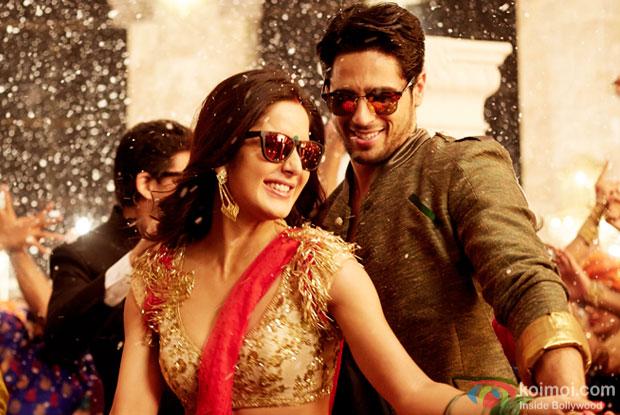 Katrina Kaif and Sidharth Malhotra in a still from Baar Baar Dekho
