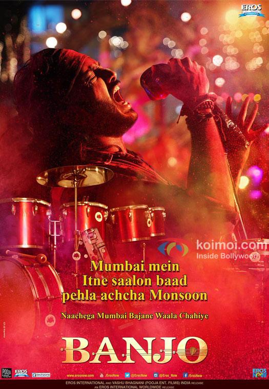 Ritesh Deshmukh starrer Banjo poster