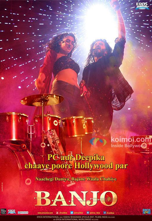 Nargis Fakhri and Ritesh Deshmukh starrer Banjo poster