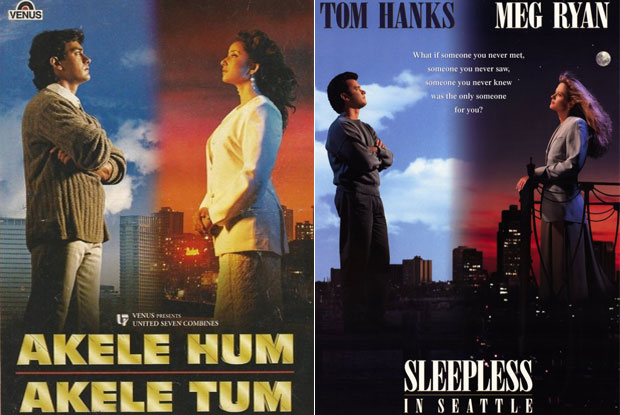 Akele Hum Akele Tum & Sleepless In Seattle