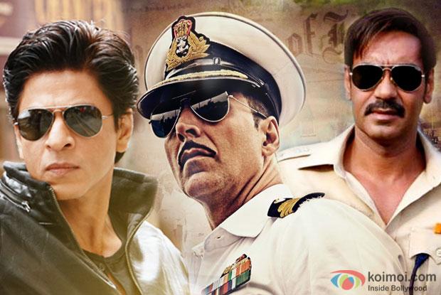 Box Office - Akshay Kumar surpasses Ajay Devgn, joins Shahrukh Khan as Rustom goes past 100 crore