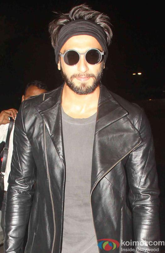 Ranveer Singh spotted at airport