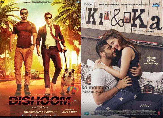 Dishoom Beats Ki And Ka; Becomes 9th Highest Grosser Of 2016